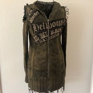 FUN SALVAGE Knit Jacket
